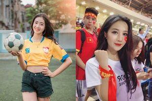 Hot girl trổ tài dự đoán tỉ số trận chung kết U22 Việt Nam - U22 Indonesia