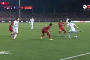 Những tình huống thót tim U22 Việt Nam vs U22 Indonesia