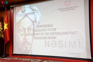 Toàn cảnh hội thảo về nhà thơ huyền bí Azerbaijan Nasimi tổ chức ở VOV