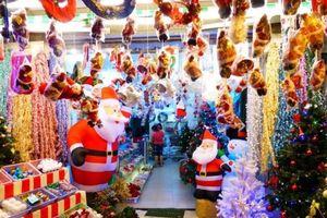 Đồ trang trí lễ Noel tăng giá