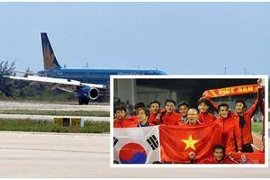 'Siêu máy bay' đón 2 đội bóng đá vô địch SEA Games 30 chiều nay có gì đặc biệt?