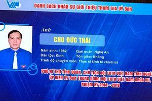Phó Bí thư Tỉnh đoàn Nghệ An được bầu Ủy viên Ủy ban Trung ương Hội Liên hiệp thanh niên Việt Nam