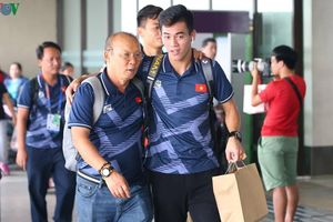 Đón U22 Việt Nam và ĐT nữ Việt Nam trở về sau SEA Games 30