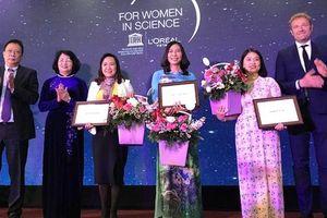 3 nhà khoa học nữ xuất sắc năm 2019 được tài trợ 450 triệu đồng