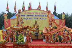 Hải Phòng kỷ niệm 434 năm ngày mất Trạng Trình Nguyễn Bỉnh Khiêm