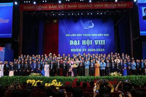 Bế mạc Đại hội đại biểu toàn quốc Hội LHTN Việt Nam lần thứ VIII