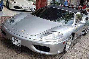 Hàng hiếm Ferrari F360 Spider tái xuất tại Sài Thành