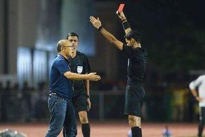 Thầy Park là HLV đầu tiên nhận thẻ đỏ trong lịch sử SEA Games