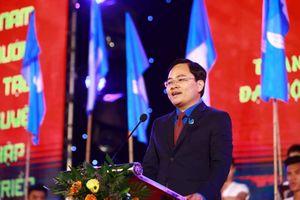 Tân Chủ tịch Ủy ban Trung ương Hội LHTN Việt Nam ra mắt thanh niên Thủ đô