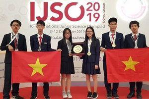 Việt Nam giành 6 huy chương tại kỳ thi Olympic Khoa học trẻ quốc tế IJSO