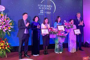 3 nhà khoa học nữ xuất sắc nhất năm 2019 được Phó Chủ tịch nước trao Giải thưởng L'Oreál – UNESCO
