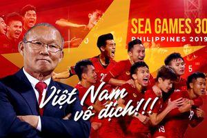 Khi HLV Calisto chúc mừng HLV Park Hang Seo và U22 Việt Nam