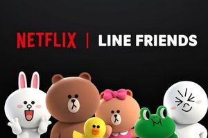 Netflix 'chơi lớn', hợp tác với Line Friend sản xuất loạt phim hoạt hình riêng!
