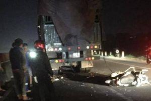 Thanh niên 9X tử vong thương tâm sau va chạm với xe tải