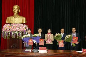 Tin nhân sự, lãnh đạo mới tại Khánh Hòa, Ninh Bình