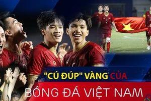 'Cú đúp' vàng của bóng đá Việt Nam