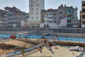Nhà thầu đường sắt đô thị Nhổn - Ga Hà Nội nói gì về phản ánh công trường gây bụi và tiếng ồn?