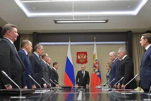 Ông Putin thông báo cho Hội đồng An ninh Nga kết quả hội nghị thượng đỉnh Bộ tứ Normandy