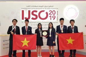 Việt Nam giành 6 huy chương Olympic Khoa học trẻ quốc tế 2019