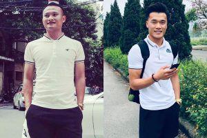 Trọng Hoàng và loạt cầu thủ Việt trông nam tính khi mặc áo polo