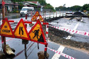 Thanh tra Chính phủ chỉ ra hàng loạt sai phạm ở quốc lộ đầy 'ổ voi'