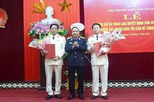 Trao quyết định của Viện trưởng VKSND Tối cao về nhân sự tại Yên Bái