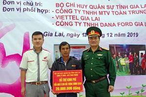 Hơn 160 triệu đồng được trao tặng cho người nghèo tỉnh Gia Lai