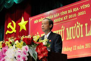 Ông Nguyễn Văn Thọ được bầu làm Chủ tịch UBND tỉnh Bà Rịa – Vũng Tàu
