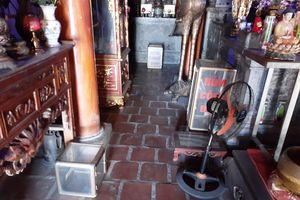 Loạn hòm công đức trong ngôi chùa hàng trăm năm tuổi ở Nghệ An