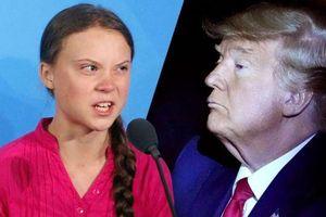 Tổng thống Trump 'móc máy' nhà hoạt động môi trường Greta Thunberg