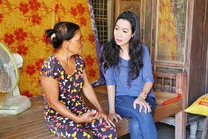 NSƯT Trịnh Kim Chi kêu gọi xây nhà cho người nghèo ở Tây Ninh