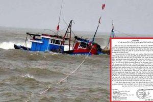 Tàu cá ngư dân Cà Mau nghi bị Hải quân Thái Lan đâm chìm khiến thuyền trưởng mất tích