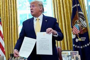 Tổng thống Trump đã ký tắt thỏa thuận thương mại Mỹ - Trung, mở ra cơ hội cắt giảm thuế quan