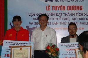 Cần Thơ khen thưởng các VĐV đoạt huy chương tại SEA Games 30 và Giải vô địch Thể hình - Physique thế giới lần thứ 11 năm 2019