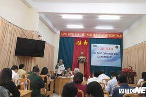 173 vận động viên tham gia Hội thao Cựu chiến binh - doanh nhân 2019