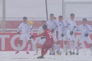 'Cầu vồng trong tuyết' của Quang Hải là 1 trong những biểu tượng của VCK U23 châu Á
