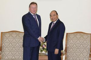 Thủ tướng Nguyễn Xuân Phúc tiếp Tổng giám đốc Công ty dầu khí Zarubezhneft (Nga)