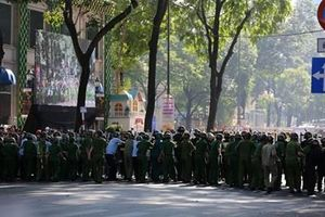 TP. Hồ Chí Minh diễn tập ứng phó các tình huống phức tạp về an ninh, trật tự