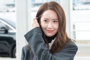 Yoona ăn mặc đơn giản vẫn thu hút ống kính