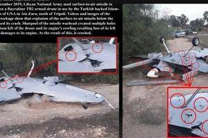 LNA công bố hình ảnh Bayraktar TB2 Thổ bị bắn nát
