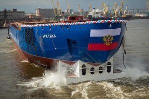 Tàu phá băng hạt nhân Nga hoàn thành thử nghiệm