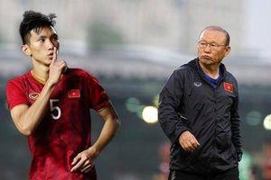 HLV Park Hang-seo liệu có 'đau đầu' khi thiếu vắng Văn Hậu tại U23 châu Á?