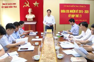 Quảng Ninh: Thi hành kỷ luật 533 đảng viên