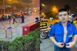 Clip: Gã bảo vệ hành hung phụ nữ như luyện 'boxing' tại trung tâm thương mại Hà Nội