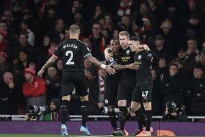 De Bruyne tỏa sáng, Man. City 'hủy diệt' Arsenal trong hiệp 1