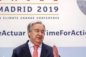 Hội nghị COP 25 kết thúc với kết quả khiêm tốn