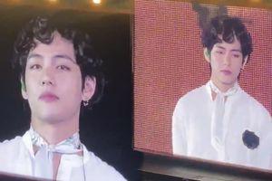V (BTS) khiến người hâm mộ bất ngờ với kiểu tóc siêu 'lạ'
