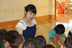 8 cô giáo trẻ tình nguyện đứng lớp không lương đã trúng tuyển biên chế