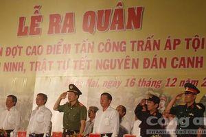 Công an tỉnh Đồng Nai tung 'quả đấm thép' trấn áp tội phạm