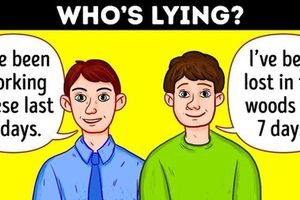 Đáp án 'câu đố nhập vai thám tử tìm kẻ nói dối'